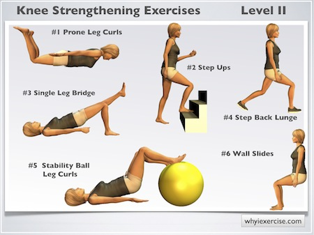 Knee strengthening exercises: Illustrated with 7 videos ...