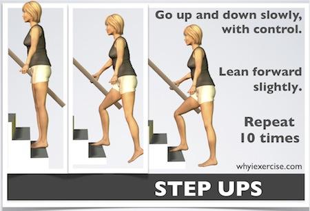 Image result for balance step-ups